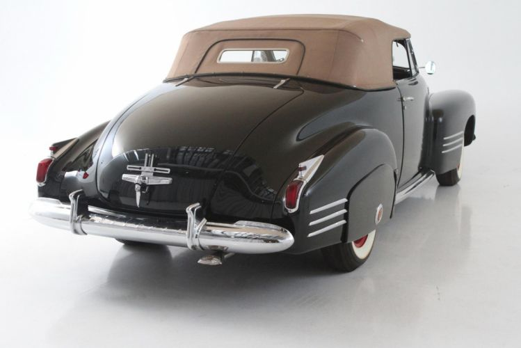 1941 Cadillac Series 62 Convertible Coupe classic cars black wallpaper