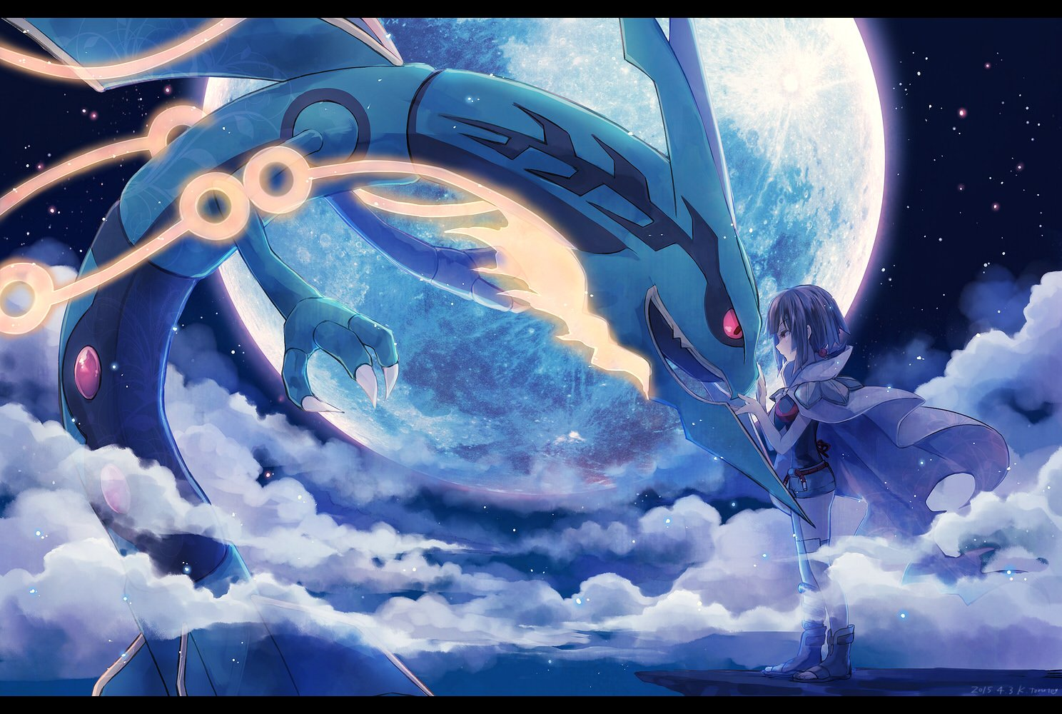 Higana Pokemon Pokemon Rayquaza Torute Wallpaper 1488x1000 704888 Wallpaperup