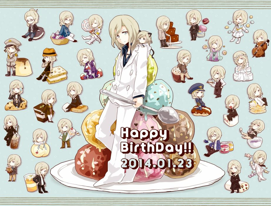 Uta no prince-sama Camus (Utapri) Wine Glass (Cup) Ice Cream wallpaper
