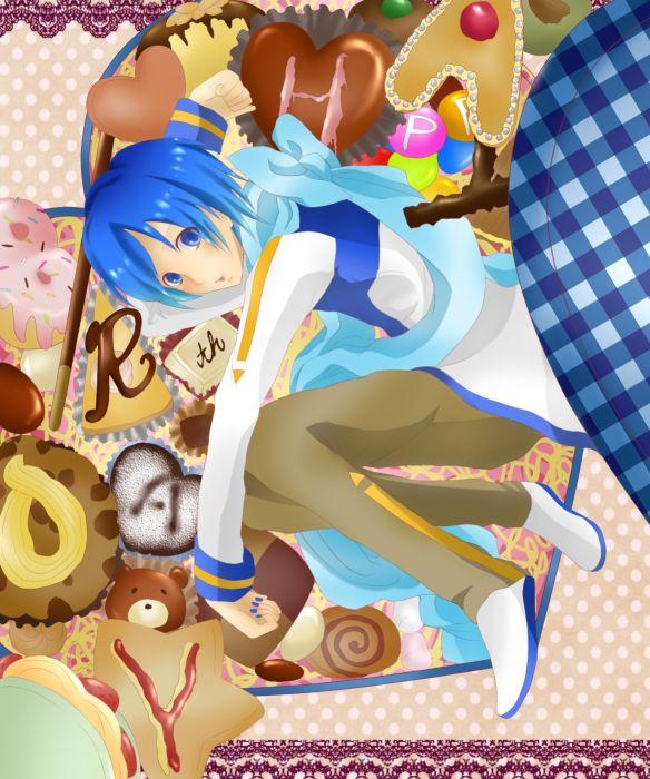 Vocaloid KAITO Donut M&M'S wallpaper