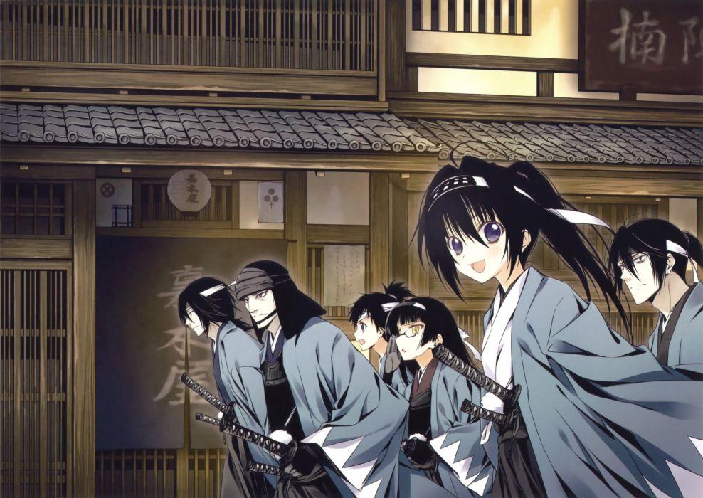 Eshi 100-nin Ten 05 Shinsengumi Uniform Haori wallpaper