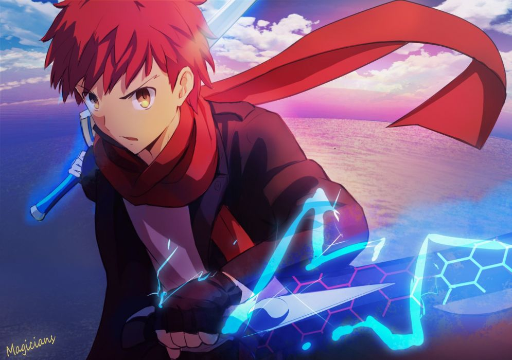 Fate Stay Night Emiya Shirou Wallpaper