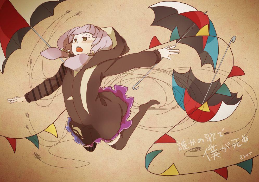 Voiceroid Vocaloid Yuzuki Yukari Wires Gradient wallpaper