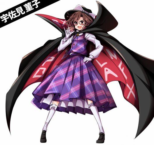 Touhou Usami Sumireko Buttons Vest Black Footwear wallpaper