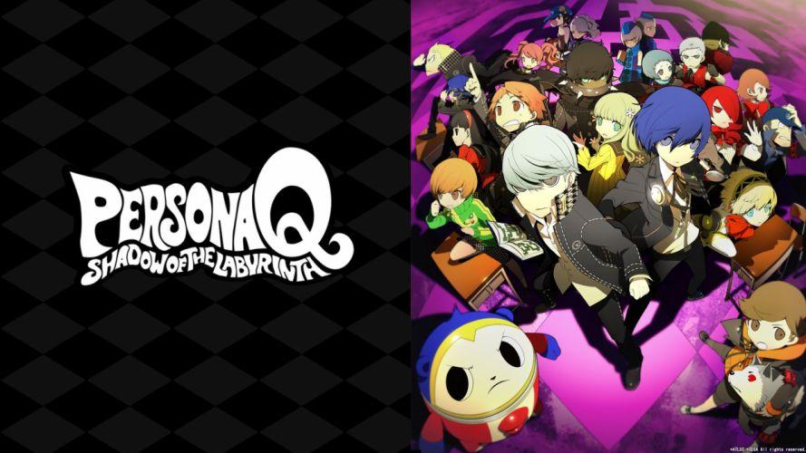 Persona Q Shadow Of The Labyrinth Takeba Yukari Rei wallpaper