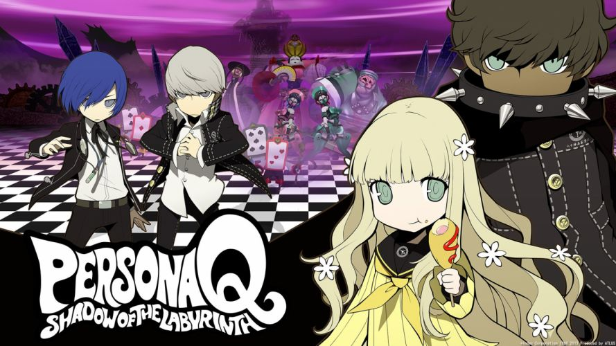 Persona Q Shadow Of The Labyrinth wallpaper