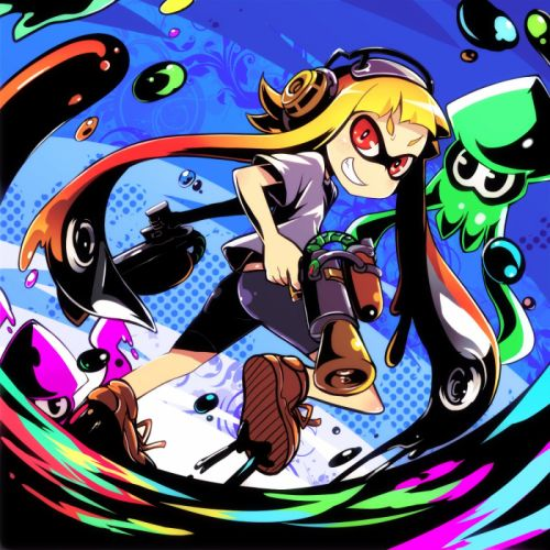 Splatoon Inkling wallpaper