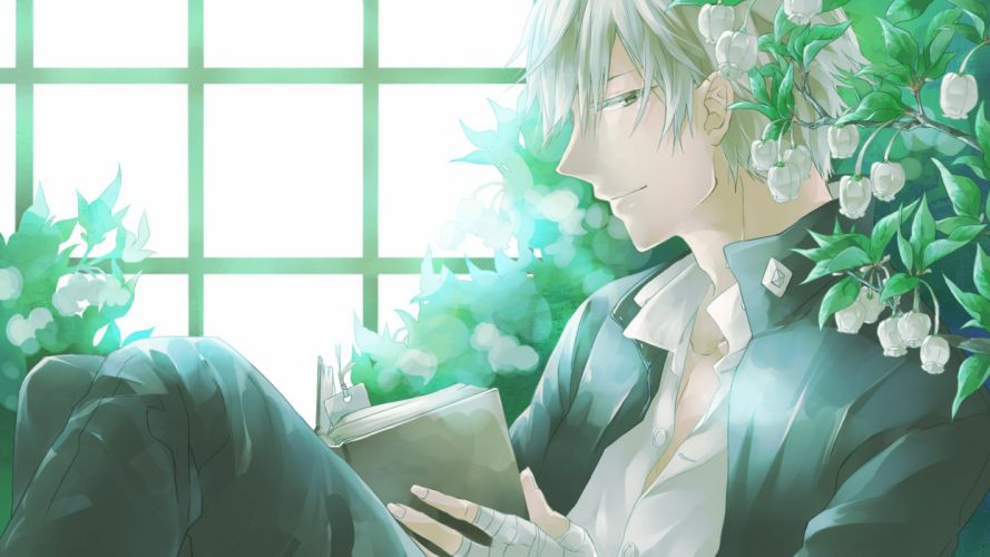 Tennis no Ouji-sama Shiraishi Kuranosuke Open Shirt Page Marker (Object) Lily Of The Valley wallpaper