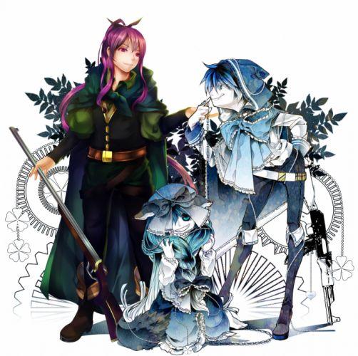 Vocaloid Kamui Gakupo KAITO Hatsune Miku wallpaper