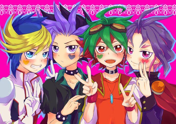 Yu-Gi-Oh ARC-V Sakaki Yuya wallpaper