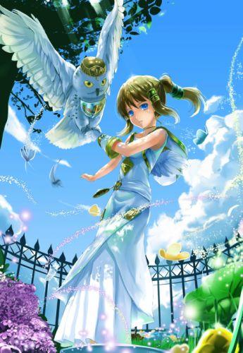 Yu-Gi-Oh Single Glove Feather Minerva Lightsworn Maiden Lightsworn wallpaper