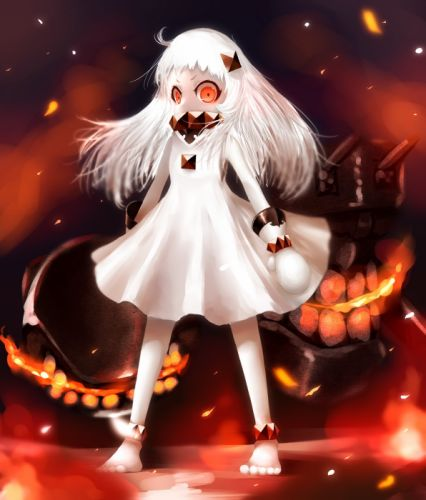 Kantai Collection Northern Ocean Hime wallpaper