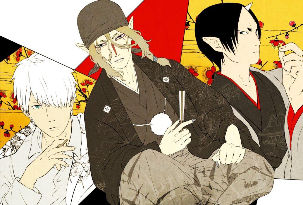 Mushishi Hoozuki no Reitetsu Mononoke Hoozuki wallpaper