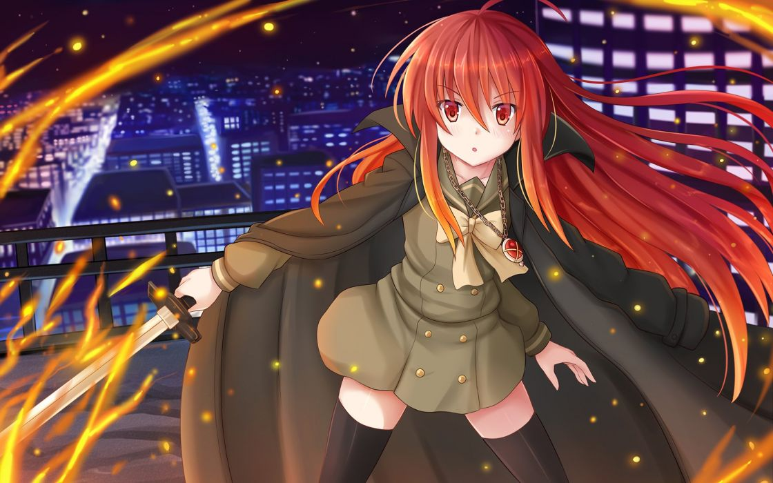 Shakugan no Shana Shana wallpaper