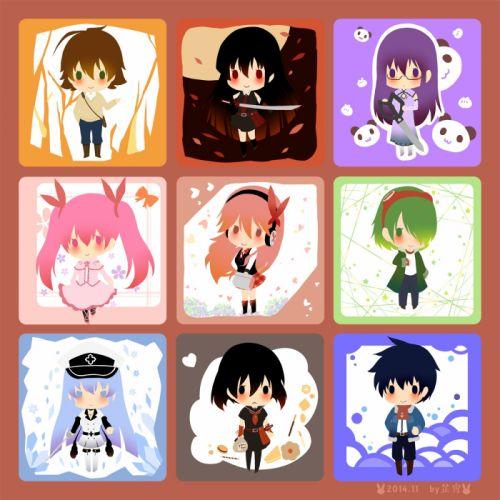 Akame ga Kill Schere wallpaper