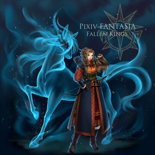 Pixiv Fantasia Fallen Kings artwork d wallpaper