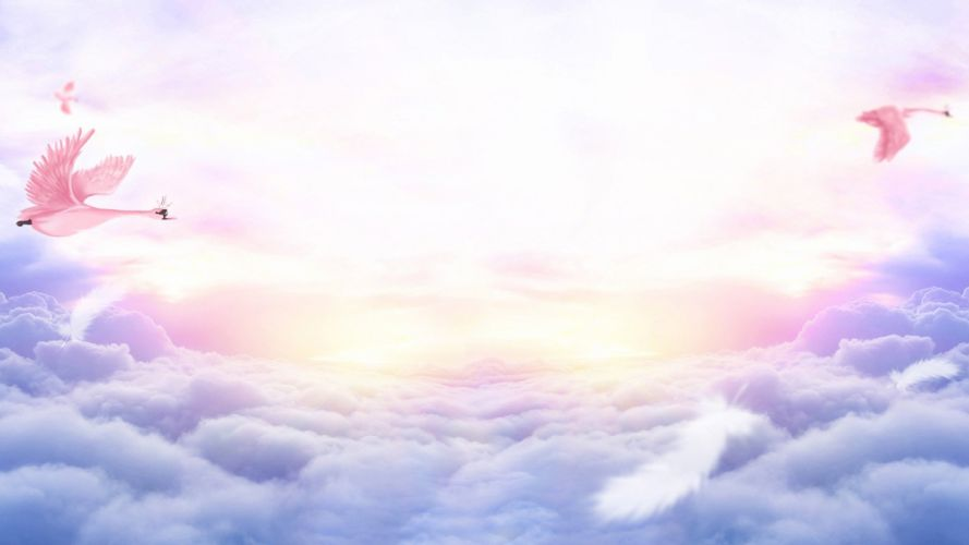 landscape sky beautiful clouds wallpaper