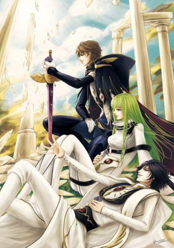 code geass anime series characters wallpaper