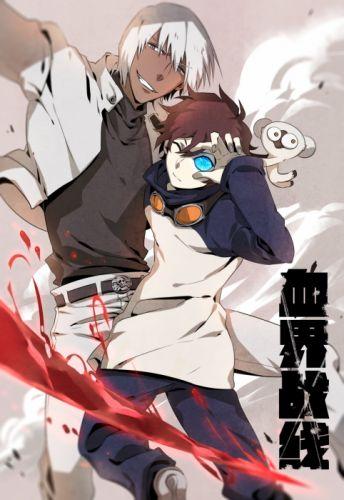 KEKKAI SENSEN manga anime d wallpaper