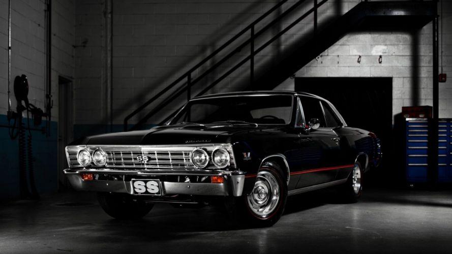 Chevrolet Black wallpaper