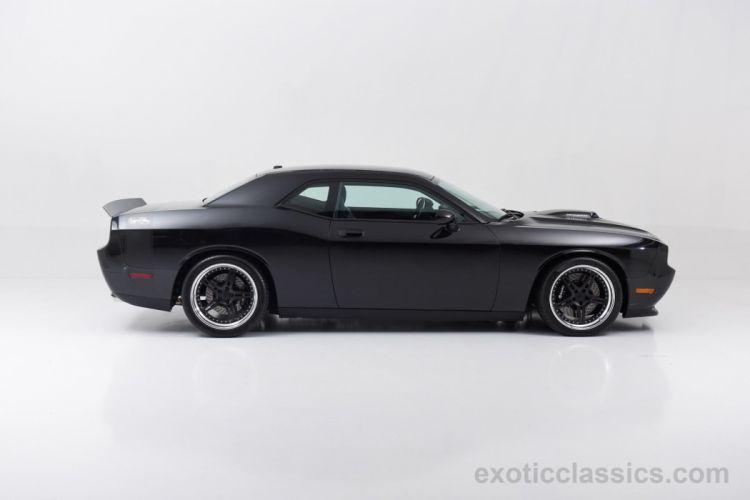 2010 Dodge Challenger Richard Petty Signature Series cars black muscle wallpaper