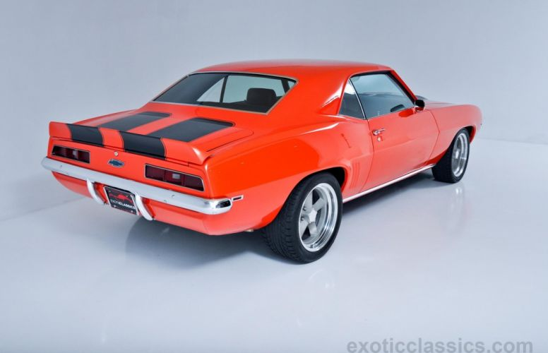 1969 chevy Camaro Pro-Touring Coupe classic cars wallpaper
