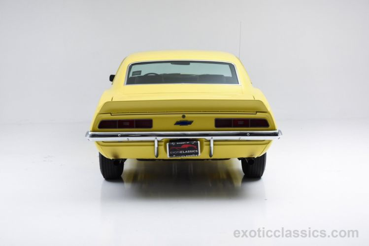1969 Chevrolet Camaro ZL-1 COPO Recreation coupe cars classic yellow wallpaper
