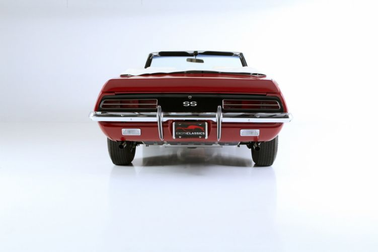 SS 396 convertible classic cars red wallpaper