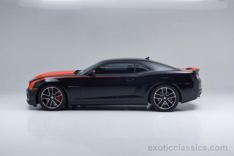 2010 Chevrolet Camaro ZL-575-SS cars coupe black wallpaper
