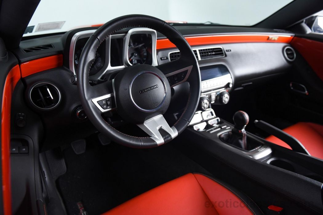 2010 Chevrolet Camaro ZL-575-SS cars coupe black wallpaper