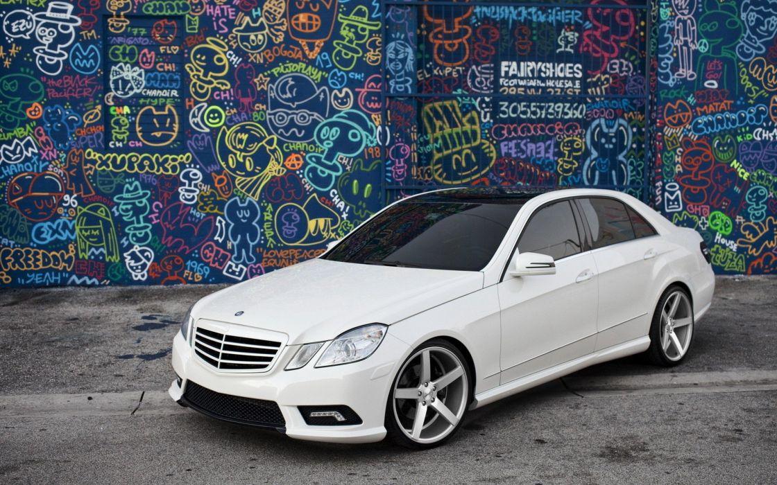 Mercedes E class wallpaper