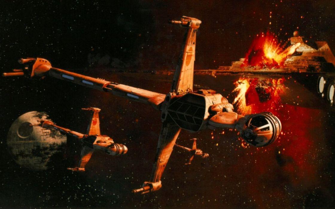 STAR WARS sci-fi futuristic science fiction spaceship f wallpaper