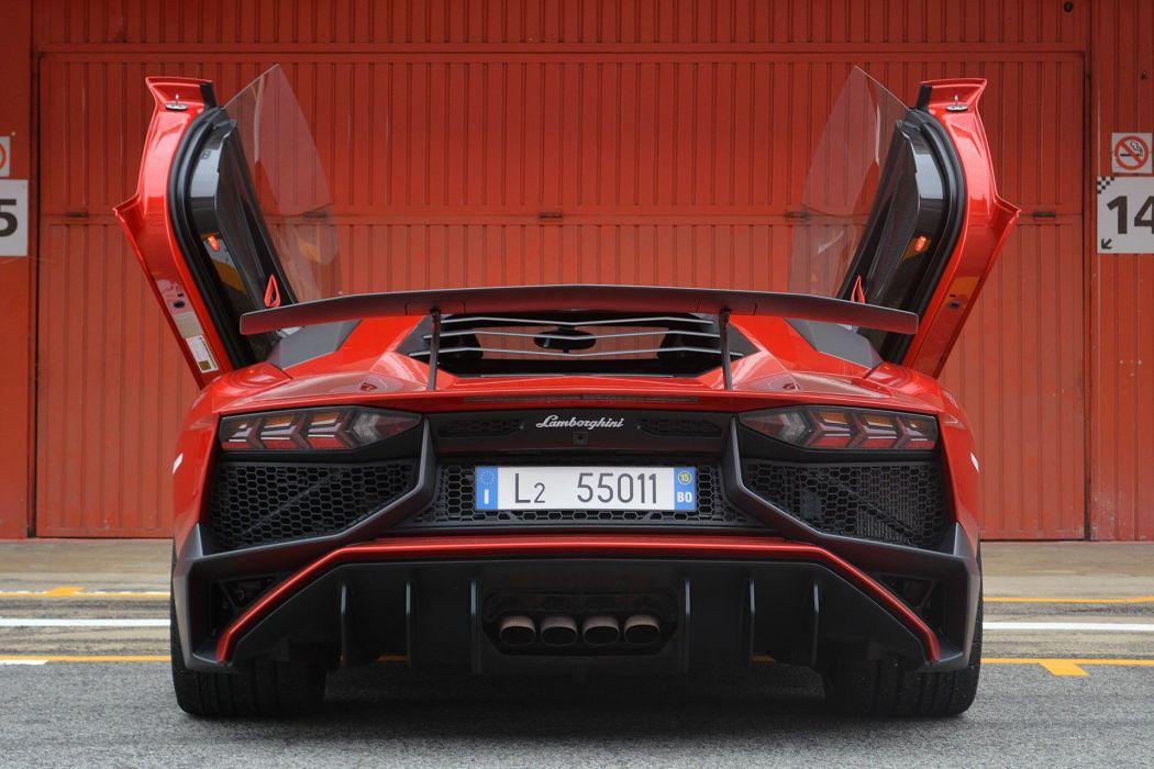 2016 Lamborghini Aventador LP-750-4 Superveloce cars supercars wallpaper
