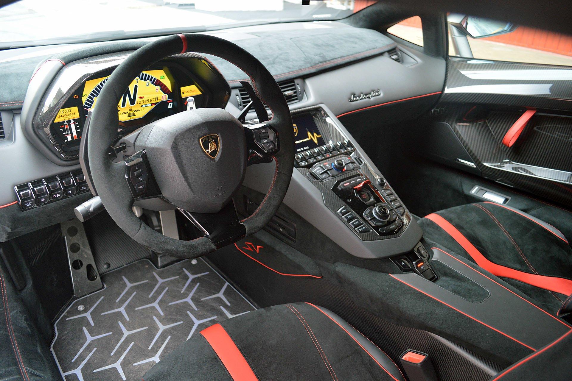 Image Gallery 2016 Aventador Interior