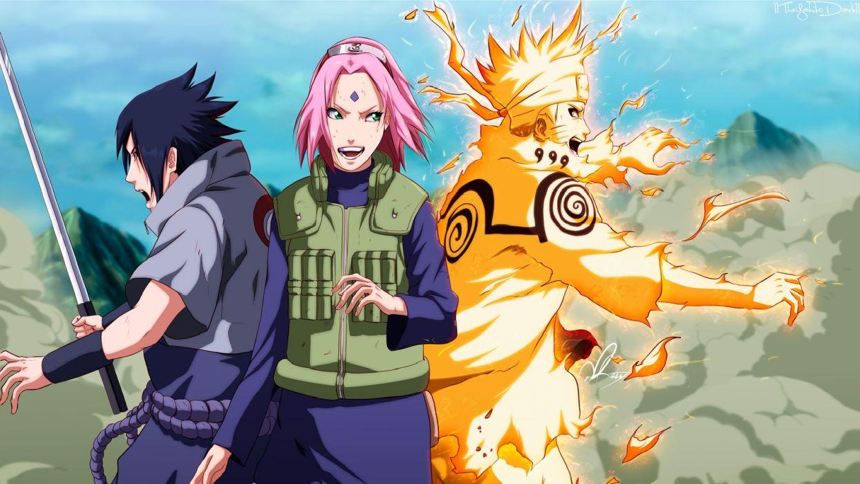 Anime Series Characters Haruno Sakura Naruto Shippuden Chiha