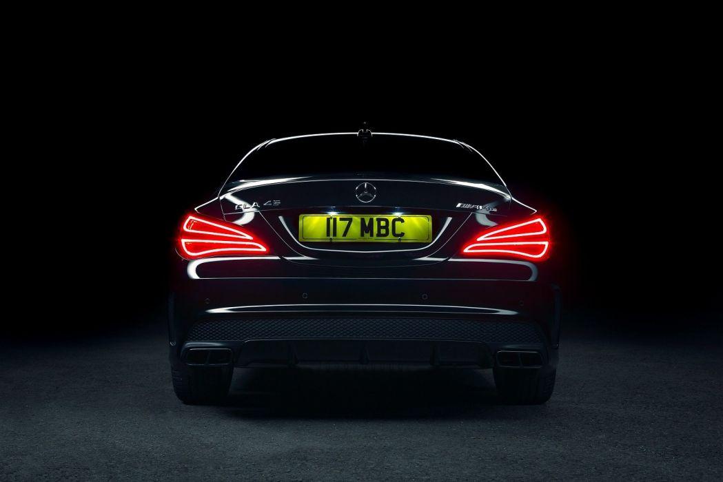 Mercedes Benz CLA-45 AMG UK-spec C117 black '2013 wallpaper