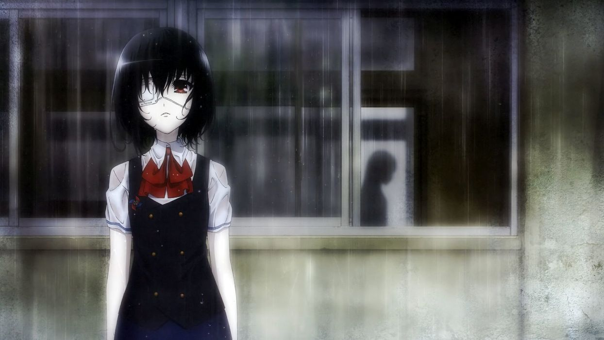 mei misaki another anime series characters wallpaper
