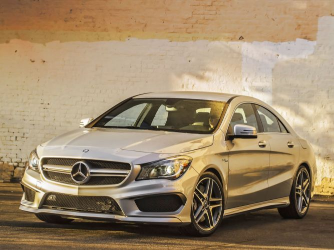 Mercedes Benz CLA-45 AMG C117 2013 cars wallpaper