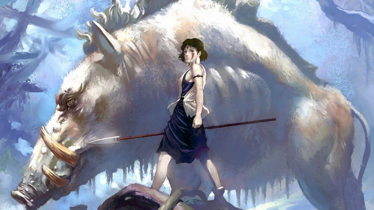 Princess Monono wallpaper