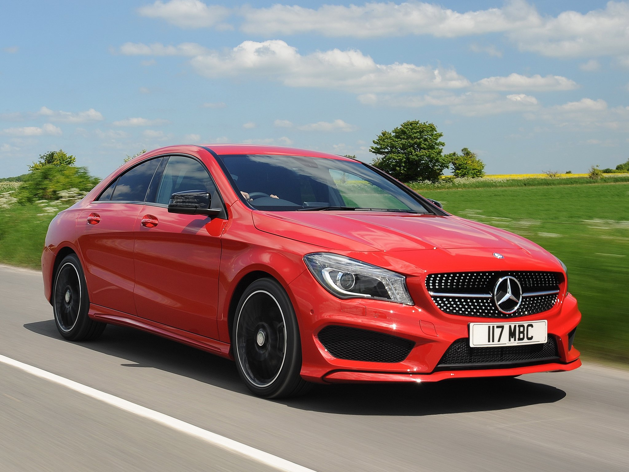 mercedes benz cla 220 cdi amg sports package uk spec c117 cars red 2013 wallpaper 2048x1536. Black Bedroom Furniture Sets. Home Design Ideas