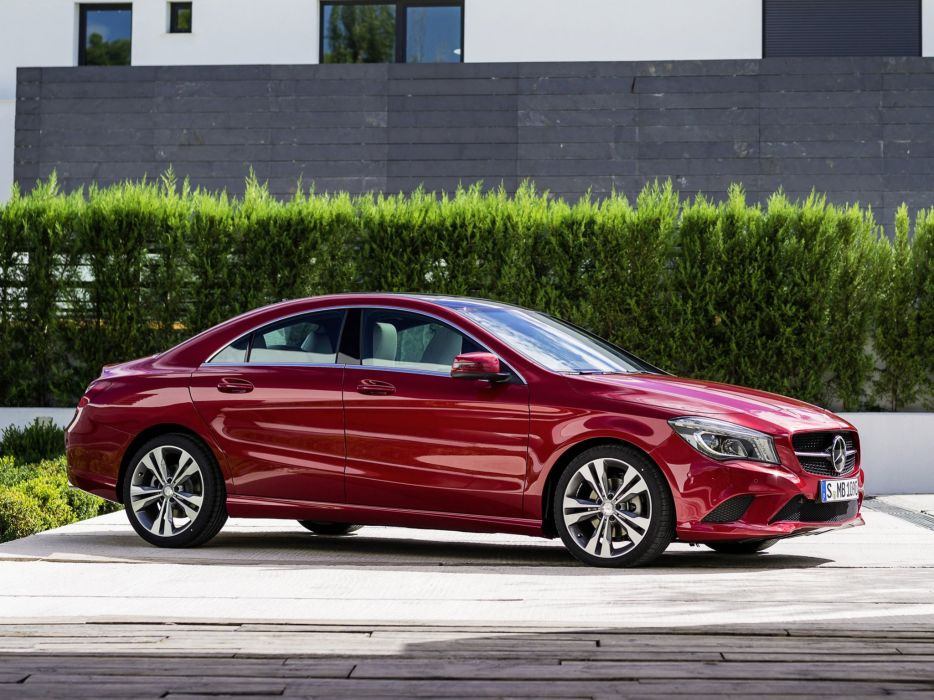Mercedes Benz CLA 220 CDI Urban C117 2013 cars red wallpaper