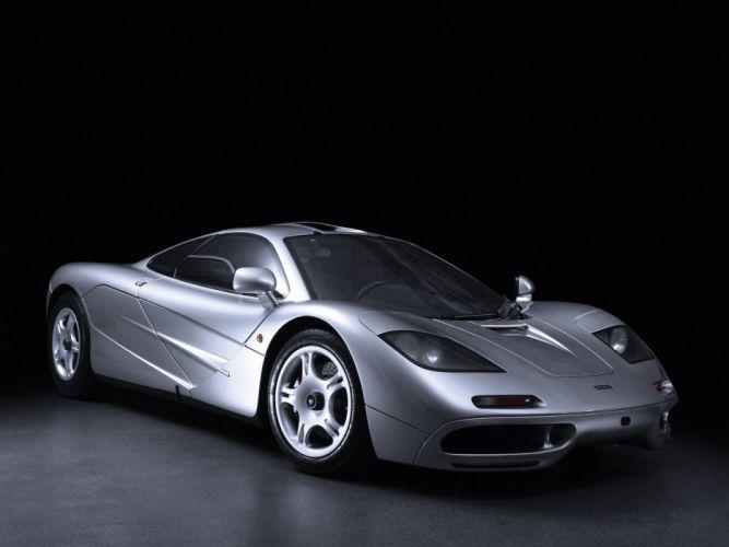 1993-98 McLaren F-1 supercar d wallpaper