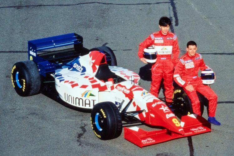 1995 Footwork FA16 F-1 formula race racing d wallpaper