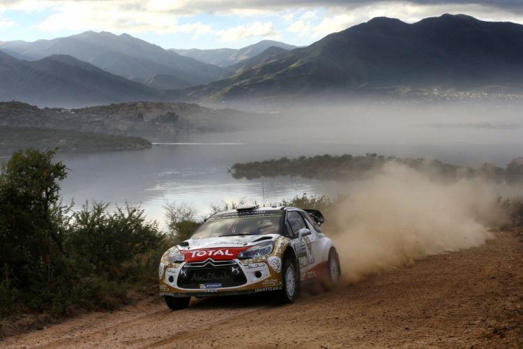 2015 Citroen DS3 WRC rally race racing s wallpaper