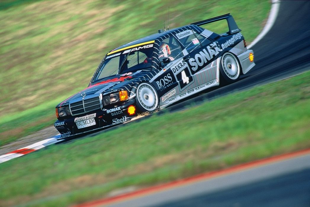 1991-93 Mercedes Benz 190 Evolution DTM W201 race racing f wallpaper