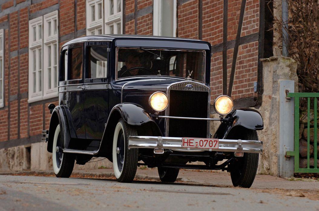 1930 SKODA 645 Limousine retro vintage luxury f wallpaper