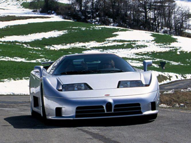 1994 Bugatti EB110 S-S supercar s wallpaper