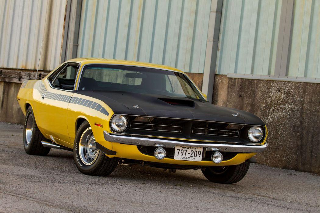 1970 Plymouth AAR Cuda BS23 barracuda muscle classic d wallpaper