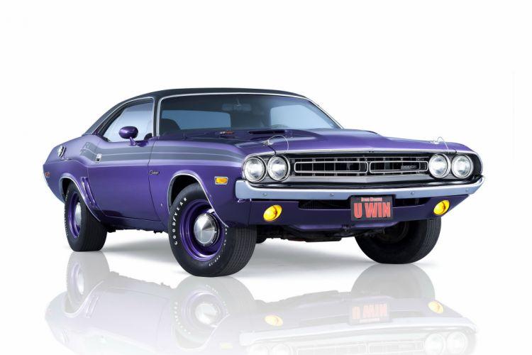 1971 Dodge Challenger R-T 426 425HP Hemi JS23 muscle classic w wallpaper