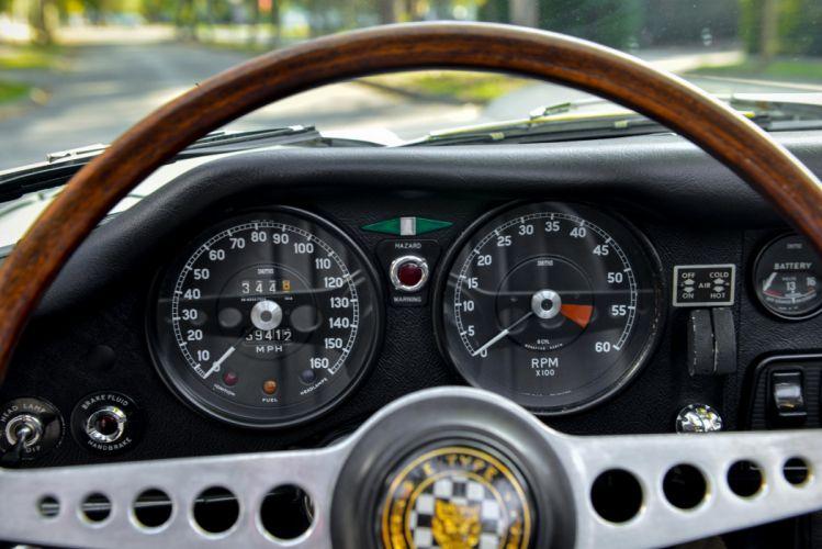 1967 Jaguar E-Type Open Two Seater Series-I luxury classic d wallpaper